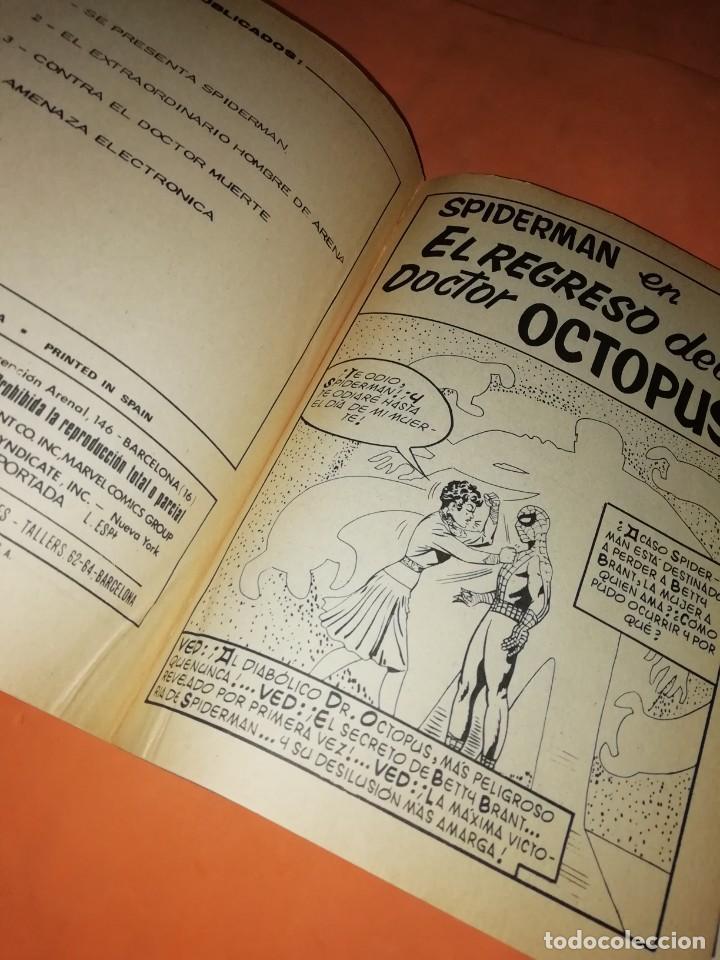 Cómics: SPIDERMAN. VOLUMEN 1 Nº 5. EL REGRESO DEL DR OCTOPUS. VERTICE TACO. - Foto 7 - 218618638