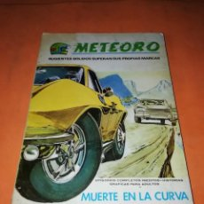 Cómics: METEORO. VOLUMEN 1. Nº 12. MUERTE EN LA CURVA. VERTICE TACO.. Lote 218619348