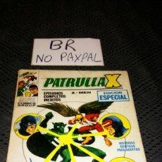 Cómics: PATRULLA X MEN DOS TITAN ES FRENTE A FRENTE TOMO NÚMERO 13 VER FOTOS PRIMERA PÁGINA RASTRO DE SELLO. Lote 218644620