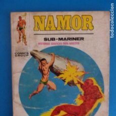 Cómics: COMIC DE NAMOR CONTRA LA ANTORCHA HUMANA EL CIELO Nº 21 AÑO 1972 DE TACO EDICIONES VERTICE LOTE 29 B. Lote 218664673