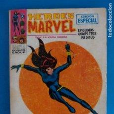 Cómics: COMIC DE HEROES MARVEL LLEGA LA VIUDA NEGRA Nº 5 AÑO 1972 DE TACO EDICIONES VERTICE LOTE 29 C. Lote 218667857
