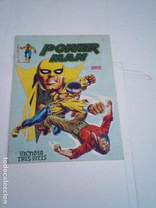 POWER MAN - NUMERO 1 - LINEA 83 - SURCO - VERTICE - CJ 112 - GORBAUD (Tebeos y Comics - Vértice - Surco / Mundi-Comic)