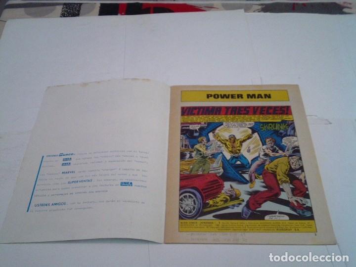 Cómics: POWER MAN - NUMERO 1 - LINEA 83 - SURCO - VERTICE - CJ 112 - GORBAUD - Foto 2 - 218723687