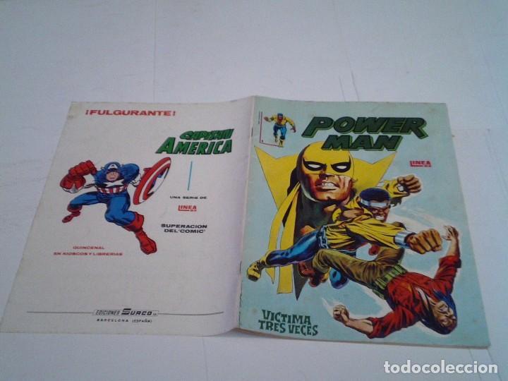 Cómics: POWER MAN - NUMERO 1 - LINEA 83 - SURCO - VERTICE - CJ 112 - GORBAUD - Foto 5 - 218723687