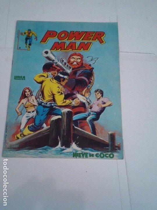 POWER MAN - NUMERO 2 - LINEA 83 - SURCO - VERTICE - MUY BUEN ESTADO - CJ 119 - GORBAUD (Tebeos y Comics - Vértice - Surco / Mundi-Comic)