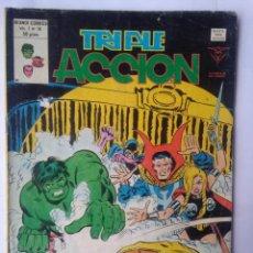 Cómics: TRIPLE ACCION VOL 1 NUM 18. Lote 218744776