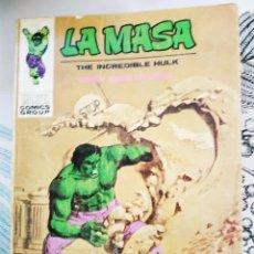 Cómics: LA MASA HULK V1 N.º 24 ENCUENTRO DE MONSTRUOS VERTICE TACO. Lote 218748527
