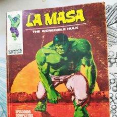 Cómics: LA MASA HULK V1 N.º 23 MAÑANA MORIRA EL SOL VERTICE TACO. Lote 218748557