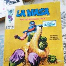 Cómics: LA MASA HULK V1 N.º 6 ARENAS MOVEDIZAS VERTICE TACO. Lote 218748937