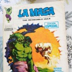 Cómics: LA MASA HULK V1 N.º 2 UN MONSTRUO ANDA SUELTO VERTICE TACO. Lote 218749015