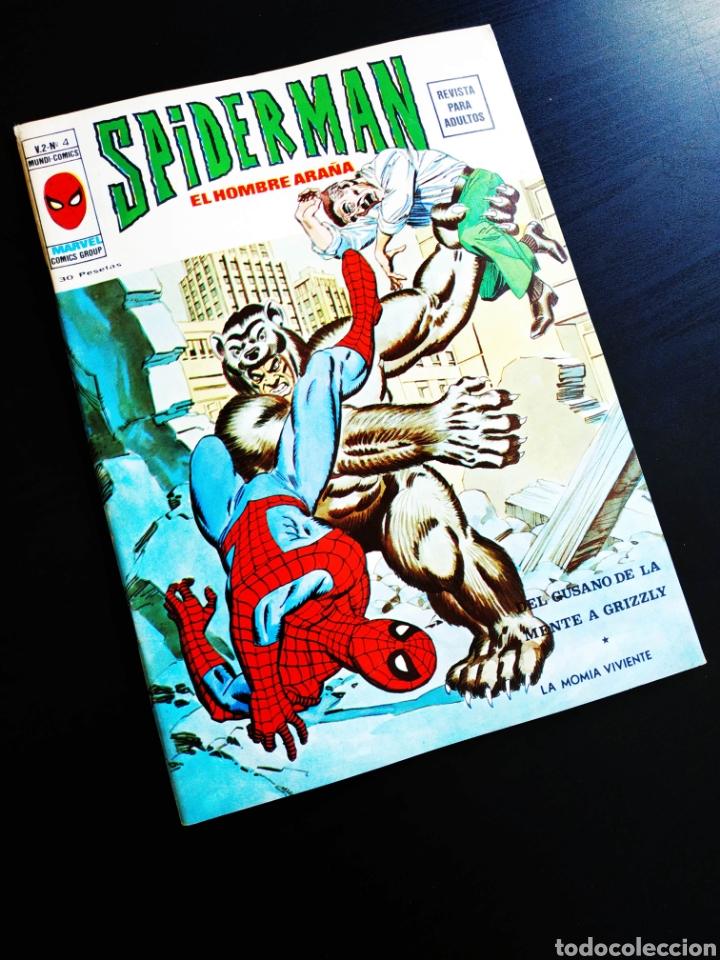 CASI EXCELENTE ESTADO SPIDERMAN 4 VOL II MUNDI COMICS VERTICE (Tebeos y Comics - Vértice - Otros)