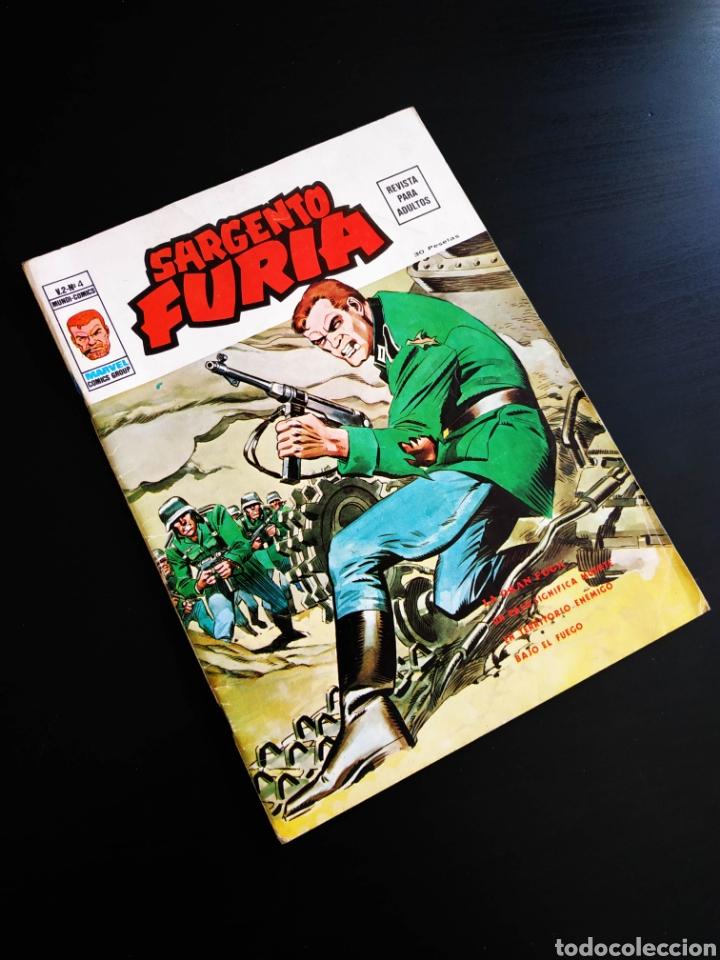 MUY BUEN ESTADO SARGENTO FURIA 6 VOL II MUNDI COMICS VERTICE (Tebeos y Comics - Vértice - Furia)