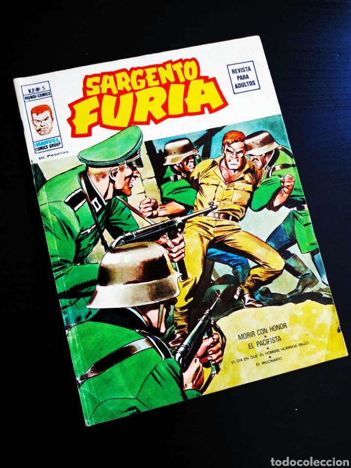 BASTANTE NUEVO SARGENTO FURIA 6 VOL II MUNDI COMICS VERTICE (Tebeos y Comics - Vértice - Furia)