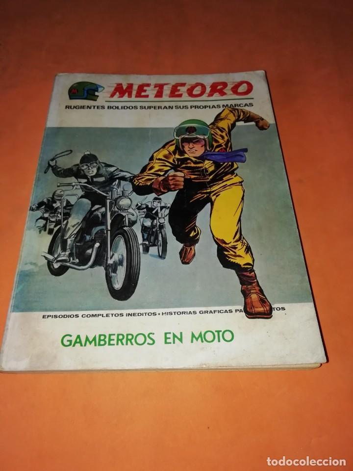 METEORO. VOLUMEN 1. Nº 7. GAMBERROS EN MOTO. VERTICE TACO. (Tebeos y Comics - Vértice - V.1)
