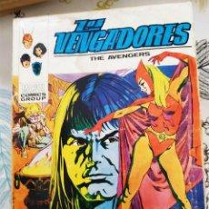 Cómics: LOS VENGADORES V1 N.º 34 LA BRUJA Y EL GUERRERO VERTICE TACO. Lote 218790306