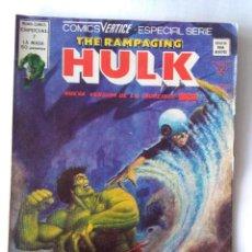 Cómics: THE RAMPAGING HULK 7. Lote 218802570