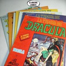 Cómics: LA TUMBA DE DRÁCULA VOL.2, COLECCIÓN COMPLETA, ED. VERTICE, OFERTA!!. Lote 218838298