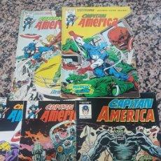 Cómics: 5 COMICS VERTICE CAPITAN AMERICA. Lote 219006578