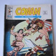 Comics : CONAN (1974, VERTICE) -V 2- 15 · VII-1976 · SOBRE LA PISTA DE LA MUJER PIRATA. Lote 219107276