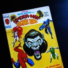 Cómics: SUPER HEROES 4 ESPECIAL NORMAL ESTADO CELO CONTRAPORTADA VERTICE. Lote 219148145