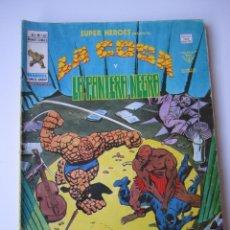 Cómics: SUPER HEROES (1974, VERTICE) 102 · 1976 · LA COSA Y LA PANTERA NEGRA. EL SECUESTRO DE LA VISION. Lote 219155755