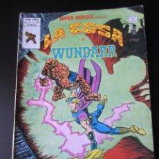 Cómics: SUPER HEROES (1974, VERTICE) 122 · 1976 · LA COSA Y WUNDARR. CUANDO WUNDARR ANDA. Lote 219156042
