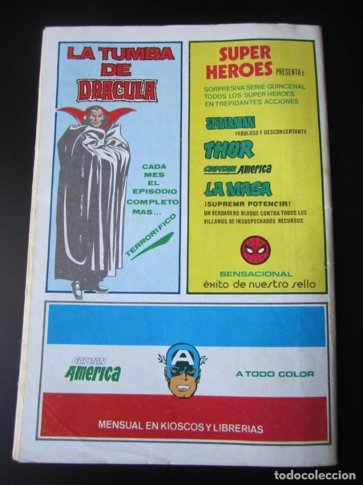 Cómics: SUPER HEROES (1974, VERTICE) 122 · 1976 · LA COSA Y WUNDARR. CUANDO WUNDARR ANDA - Foto 2 - 219156042