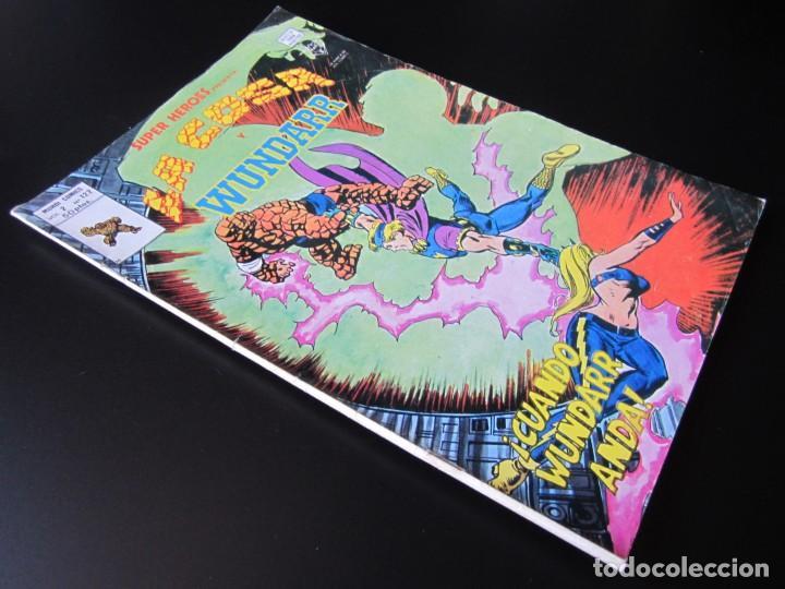 Cómics: SUPER HEROES (1974, VERTICE) 122 · 1976 · LA COSA Y WUNDARR. CUANDO WUNDARR ANDA - Foto 3 - 219156042
