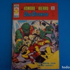 Cómics: COMIC DE EL HOMBRE DE HIERRO Y DAN DEFENSOR EL MIEDO TIENE DOS ... AÑO 1974 Nº 34 DE VERTICE L 14 A. Lote 219157651