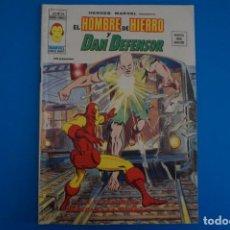 Cómics: COMIC DE EL HOMBRE DE HIERRO Y DAN DEFENSOR Y EL FENOMENO HEREDARA AÑO 1976 Nº 37 DE VERTICE L 14 A. Lote 219158240