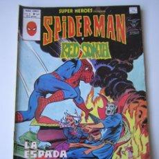 Cómics: SUPER HEROES (1974, VERTICE) 107 · 1976 · SPIDER-MAN Y RED SONJA. LA ESPADA DE LA DIABLESA. Lote 219158957