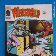 Cómics: COMIC DE WEREWOLF HOMBRE LOBO SANGRE A TRAVES DE LA MEDIANOCHE AÑO 1975 Nº 7 DE VERTICE LOTE 14 B. Lote 219167586