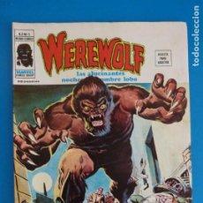 Cómics: COMIC DE WEREWOLF HOMBRE LOBO UN ECLIPSE DE LA MALDAD AÑO 1975 Nº 5 DE VERTICE LOTE 14 B. Lote 219168345