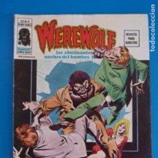 Cómics: COMIC DE WEREWOLF HOMBRE LOBO EL ASESINO ES UN MANIATICO AÑO 1975 Nº 4 DE VERTICE LOTE 14 B. Lote 219168740