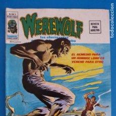 Cómics: COMIC DE WEREWOLF HOMBRE LOBO EL REMEDIO PARA UN HOMBRE LOBO ES.. AÑO 1975 Nº 3 DE VERTICE LOTE 14 B. Lote 219169211
