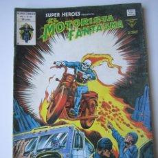 Cómics: SUPER HEROES (1974, VERTICE) 125 · 1976 · EL MOTORISTA FANTASMA. EL TREN DE CARGA HACIA EL OLVIDO. Lote 219211908