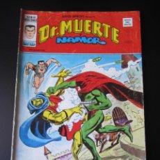 Cómics: SUPER HEROES (1974, VERTICE) 68 · 1976 · DR. MUERTE Y NAMOR. ¿QUIEN ES EL ENCAPUCHADO?. Lote 219212507