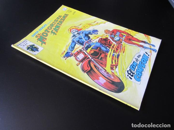 Cómics: SUPER HEROES (1974, VERTICE) 128 · 1976 · EL MOTORISTA FANTASMA. EL FIN DE UN CAMPEON - Foto 3 - 219213796