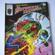 Cómics: SUPER HEROES (1974, VERTICE) 127 · 1976 · EL MOTORISTA FANTASMA. TUNICA ESCARLATA ALMA DE POLVO. Lote 219219431