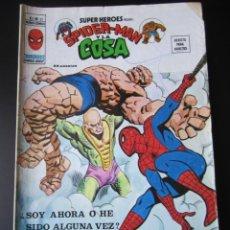 Cómics: SUPER HEROES (1974, VERTICE) 61 · 1976 · SPIDER-MAN Y LA COSA. ¿SOY AHORA O HE SIDO ALGUNA VEZ?. Lote 219224198