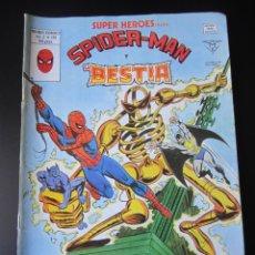Cómics: SUPER HEROES (1974, VERTICE) 126 · 1976 · SPIDER-MAN Y BESTIA. MUERTE EN EL AIRE. Lote 219224532