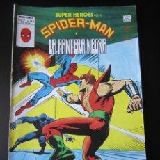 Cómics: SUPER HEROES (1974, VERTICE) 123 · 1976 · SPIDER-MAN Y LA PANTERA NEGRA. EL FILO DE LA NAVAJA. Lote 219225908