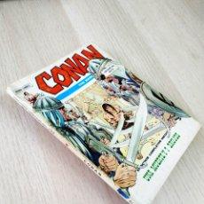 Cómics: CONAN 17 AVENTURA DE CONAN COMPLETA PERO TERMINA EN LA PAGINA 120 TACO VERTICE. Lote 219287363