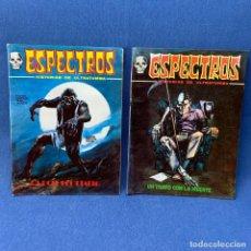 Comics: LOTE 2 ESPECTROS Nº 21 Y Nº 22 - VÉRTICE - AÑO 1972 - HISTORIAS DE ULTRATUMBA - MUY BUEN ESTADO. Lote 219310766