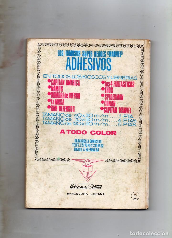 Cómics: COMIC VERTICE 1973 SPIDERMAN VOL1 Nº 40 (USADO) - Foto 2 - 219350295