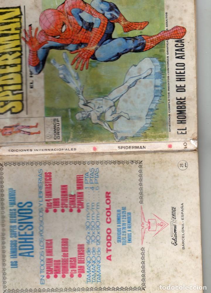 Cómics: COMIC VERTICE 1973 SPIDERMAN VOL1 Nº 40 (USADO) - Foto 3 - 219350295
