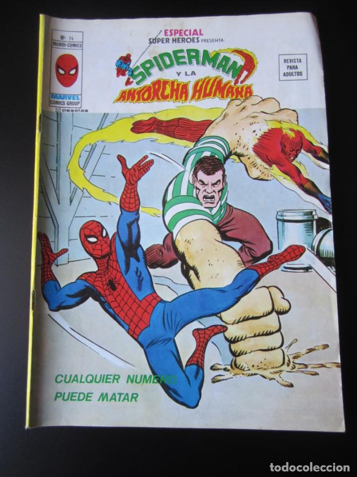 SUPER HEROES (1976, VERTICE) -ESPECIAL- 14 · 1976 · CUALQUIER NUMERO PUEDE MATAR (Tebeos y Comics - Vértice - Super Héroes)