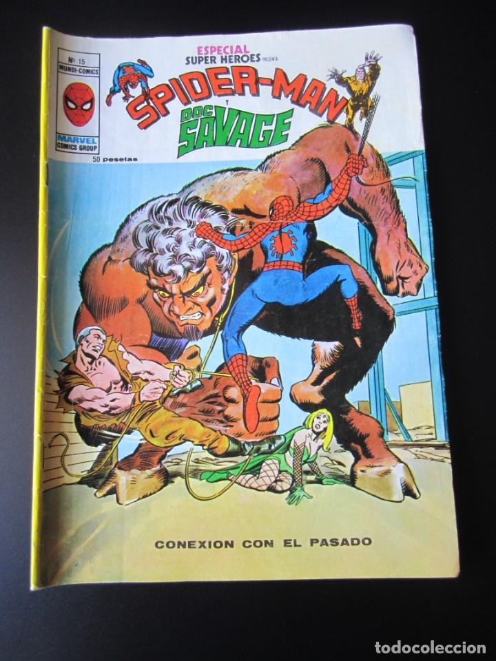 SUPER HEROES (1976, VERTICE) -ESPECIAL- 15 · 1976 · CONEXION CON EL PASADO (Tebeos y Comics - Vértice - Super Héroes)