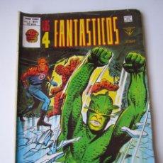 Cómics: 4 FANTASTICOS, LOS (1977, VERTICE) -V.3- 26 · III-1980 · ¿QUIEN NOS QUIERE DESTRUIR?. Lote 219416370