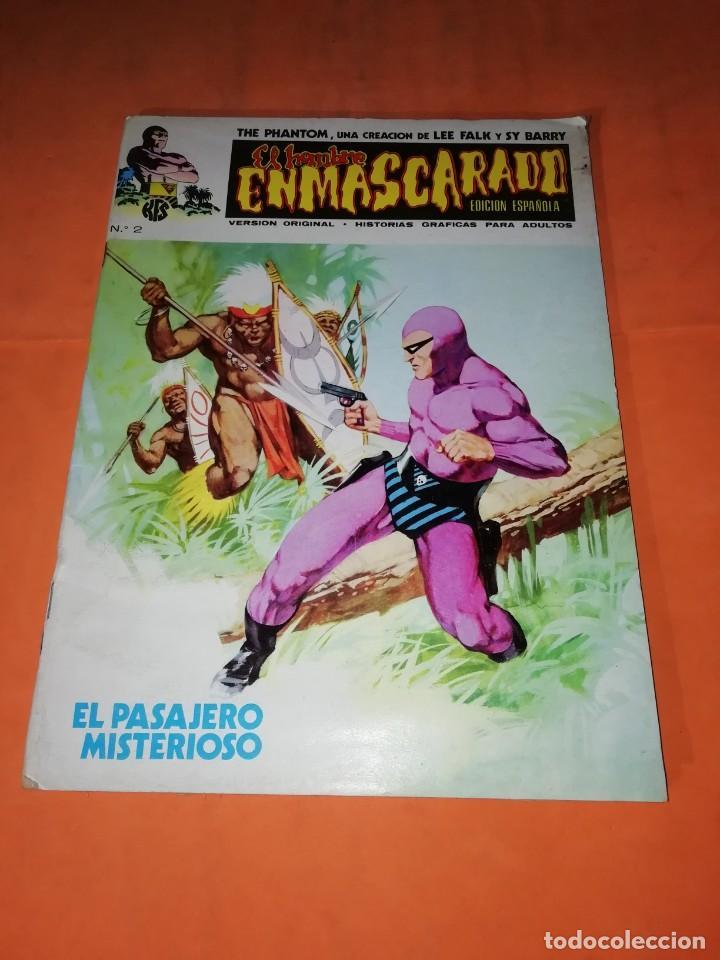 EL HOMBRE ENMASCARADO. Nº 2. EL PASAJERO MISTERIOSO. VERTICE 1974 (Tebeos y Comics - Vértice - Hombre Enmascarado)